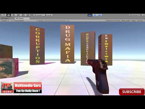 PTI Troopers Level 1 Game Designing In Unity 2017