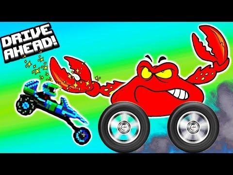 Новая серия Мультики про машинки БЕЗУМНЫЙ ИЮЛЬ видео для детей битва тачек гонки Drive AHEAD