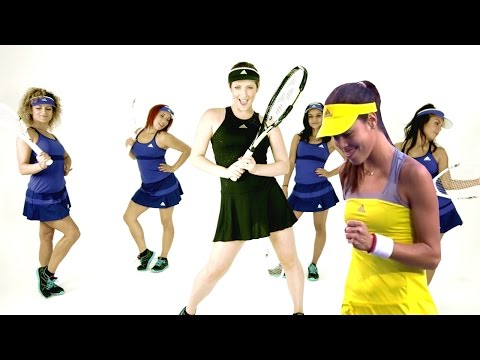 Ana Ivanovic Is Going to Play Play Play - Shake It Off Music Video Parody - Taylor Swift