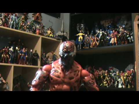 marvel legends toy review: Spiderman,Green Goblin, Doc Ock, Carnage Video