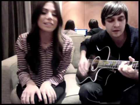 "christina perri sings ""be my baby"" to celebrate ONE MILLION FACEBOOK FOLLOWERS!"