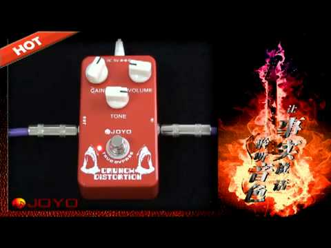 JOYO Crunch Distortion Guitar Effects Pedal JF - Pedal De Guitarra Review