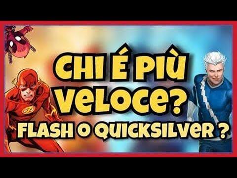 FLASH VS QUICKSILVER ! Chi è più veloce?
