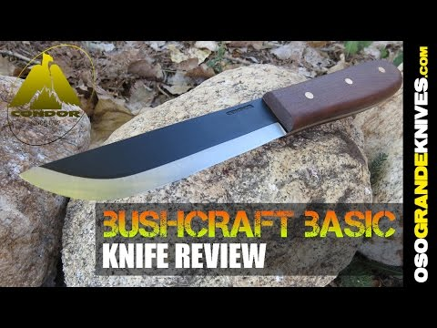 Condor Bushcraft Basic Knife Review   OsoGrandeKnives