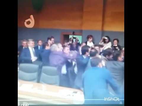Turkey Parliament Punk Rock Fight!