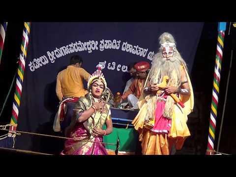 Yakshagana -- Manishada - 23 - ''yaaramma Neenu'' Patla video