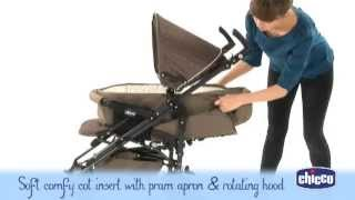 Chicco Nunu Pramlette Pram and Stroller - Demonstration Video | Babysecurity