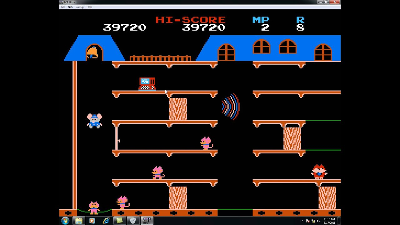 mappy flash game