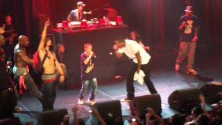 Game singing with a young kid knowing all the lyrics live in Amsterdam Melkweg Dec 2011 -
