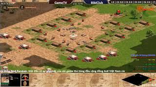 AoE 44 Random GameTV Full vs BiBiClub Full Ngày 13-12-2017