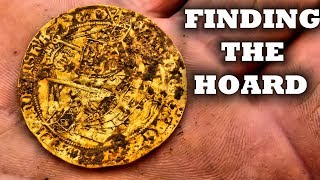 metal detecting UK 2019 EPIC HOARD of GOLD and silver coins Detectival