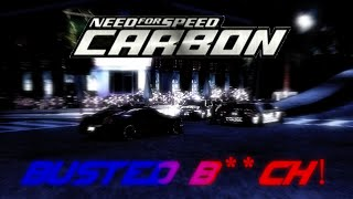 NFS Carbon - BUSTED scenes from the side