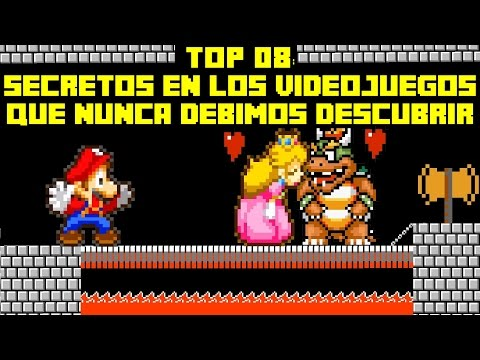 Top 08: Secretos en los Videojuegos que Nunca Debimos Descubrir - Pepe el Mago