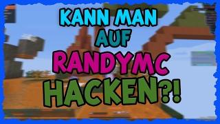 KANN MAN AUF RANDYMC HACKEN?! JA!!! ☆ Server Test - RandyMC