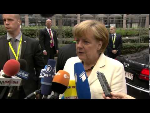 Special meeting of the European Council - Angela MERKEL, German Federal Chancellor