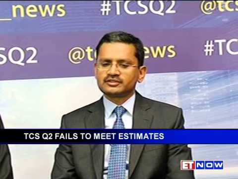 TCS disappoints street estimates in its second quarterly results