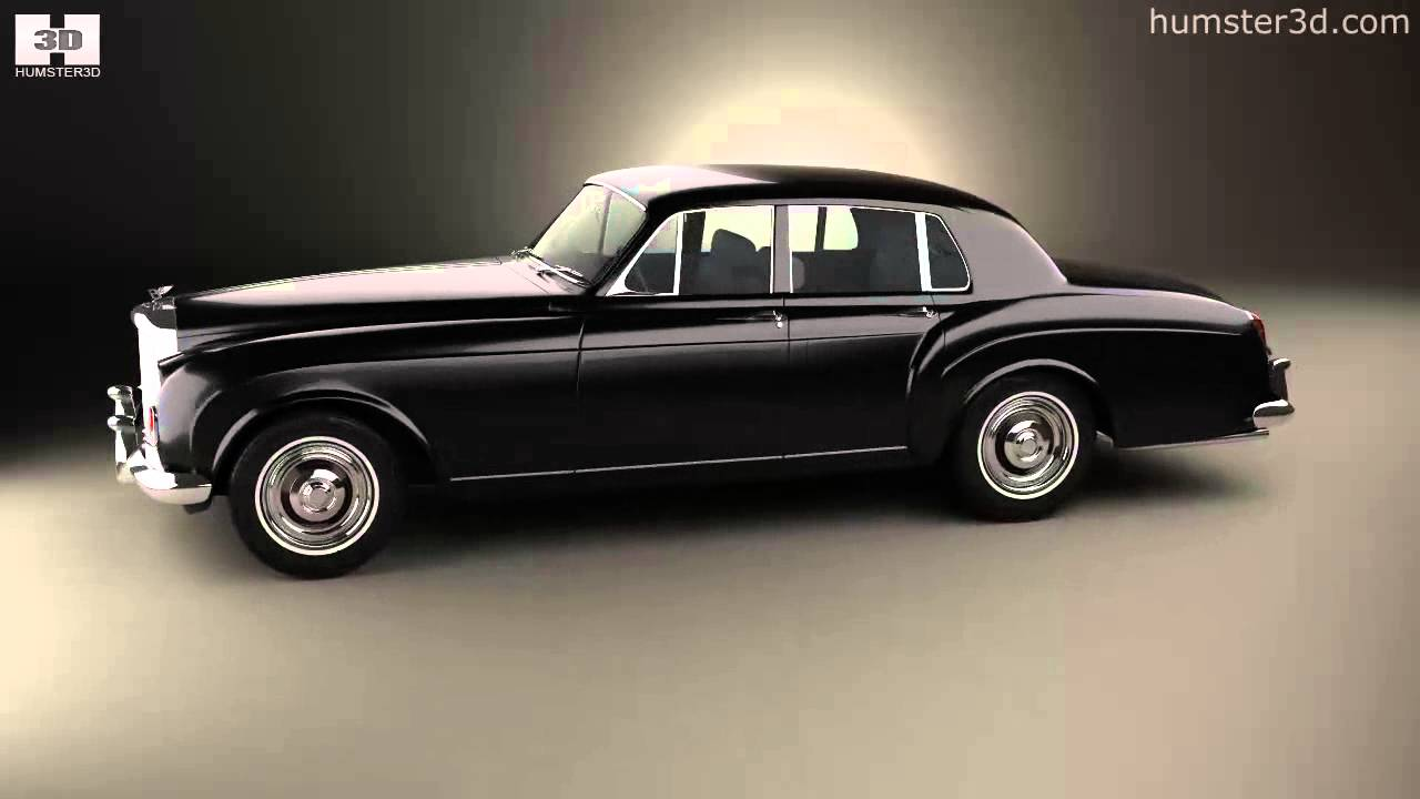 Bentley 3d Model >> Bentley S3 Continental Flying Spur Saloon 1964 by 3D model store Humster3D.com - YouTube
