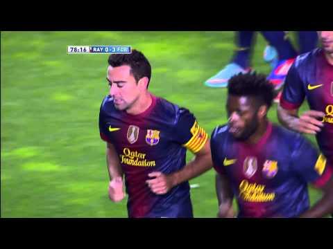 La Liga | Gol de Xavi (0-3) en el Rayo Vallcano - FC Barcelona | 27-10-2012 | J9