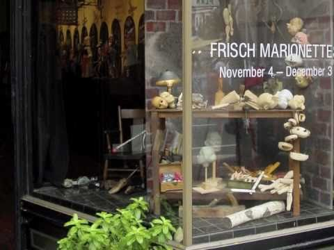 "Frisch Marionettes at Carteaux & Leslie, ""Personalities With Strings Attached"""