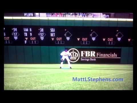 MLB 2K12 Glitch: Grady Sizemore Jump