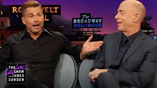 The Worst Insults Rob Lowe & J.K. Simmons Have Heard