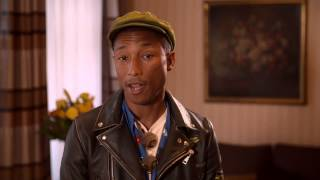 Pharrell calls for green, decent jobs to be put centre stage