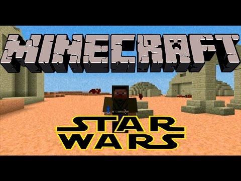Star Wars Mod 1.7.10 Minecraft   Planetas. Sables de luz. Blasters. Naves. Poderes y mas