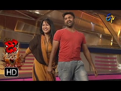 Sekhar Matar and Hany Matar Performance | Dhee Jodi | 9th November 2016 | ETV Telug thumbnail
