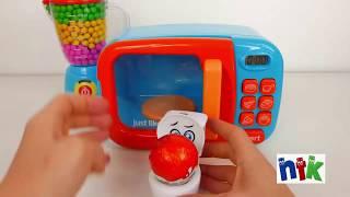 Đồ chơi lò vi sóng, máy xay sinh tố cho bé