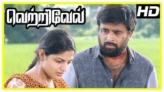 Vetrivel tamil movie | scenes | Nikhila's father commit suicide | Sasikumar marries Nikhila