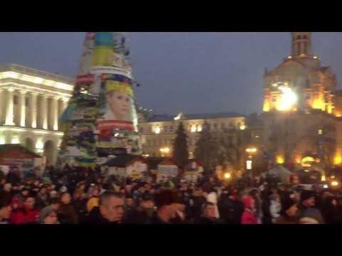 Euro maidan protest in Kiev