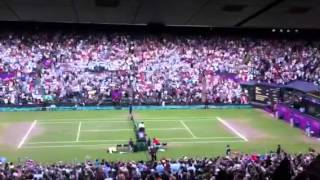 The moment Andy Murray won the Olympics