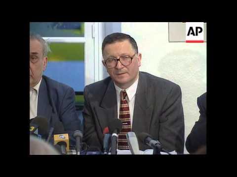 FRANCE/KOSOVO: KOSOVO PEACE TALKS UPDATE