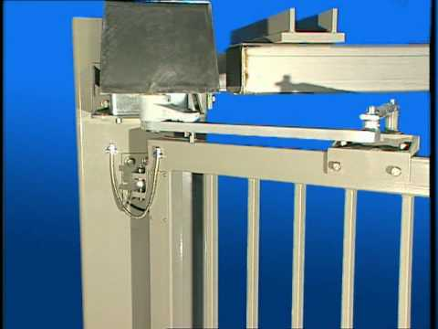 Breezemount Zabag Bi Folding Gates Youtube