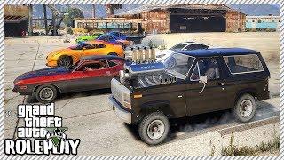 GTA 5 Roleplay - 1,120hp Monster Ford Bronco Drag Racing   RedlineRP #259