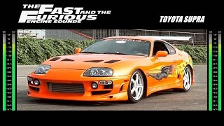 The Fast And The Furious: Engine Sounds - Toyota Supra