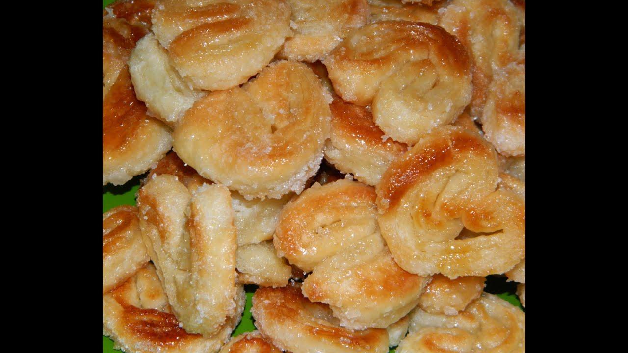 Рецепт печенья ушки с пошагово