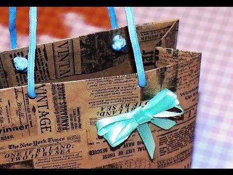 Подарочная упаковка из бумаги видео 153
