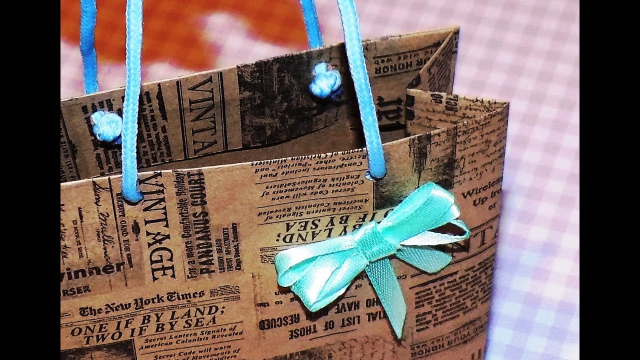 Бумажные пакеты своими руками 74