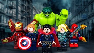 Lego Avengers Infinity War. All EPISODES | Lego Stop Motion