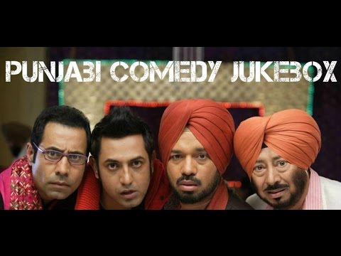 All Time Punjabi Comedy Scenes | Video Jukebox | Funny Punjabi Videos 2014