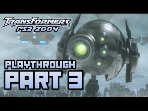 Transformers (PS2) Playthrough Part 3 - Antarctica (720p)
