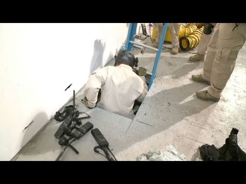 Drug Smuggling Tunnel Found, Links San Diego to Tijuana, Mexico