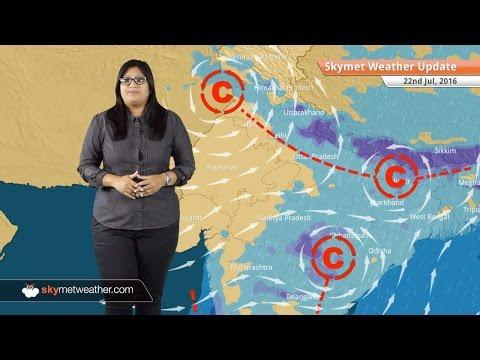 Weather Forecast for July 22: Light rain in Delhi, Heavy Monsoon rains in Northeast, Goa, UP, Bihar