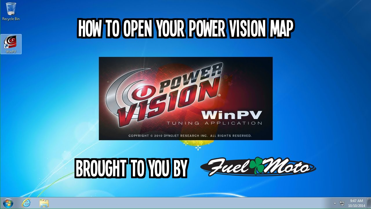 how to open a dynojet power vision map using winpv. Black Bedroom Furniture Sets. Home Design Ideas