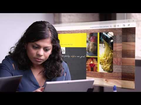 Project Spartan : d�monstration du nouveau navigateur de Microsoft