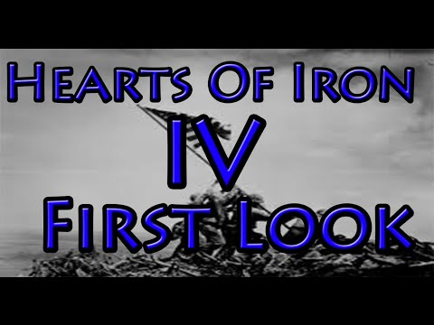 Hearts Of Iron 4 First Look and Analysis