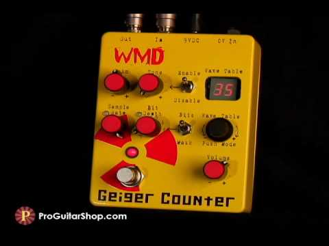 WMD Geiger Counter Distortion
