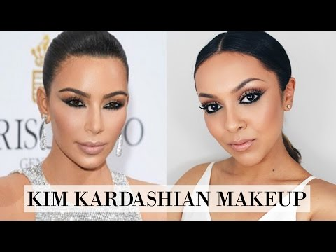 Kim Kardashian Makeup Tutorial - Cannes Makeup Look - TrinaDuhra