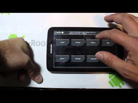Samsung Galaxy Tab 3 Nandroid Restore in TWRP Recovery